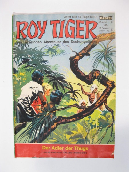 Roy Tiger Nr. 6 Bastei Verlag im Zustand (2) 51207