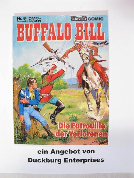Buffalo Bill Taschenbuch Nr. 8 Bastei Verlag im Z (1-2) 41661