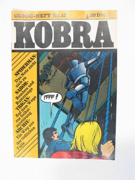 Kobra Comic 1975/18 Gevacur Verlag im Z (1 rK) 56988