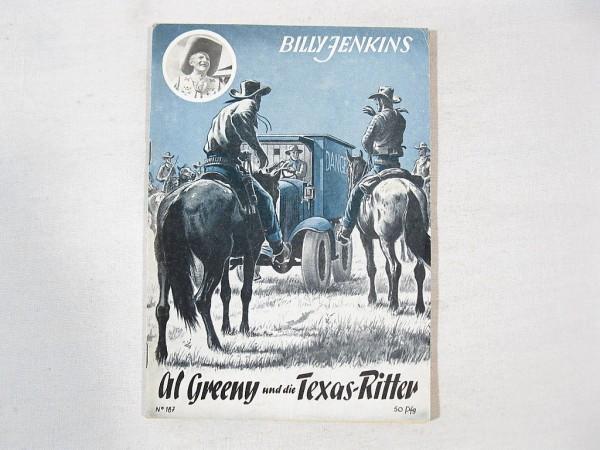 Billy JENKINS Heft Nr. 187 Uta-Verlag 37598