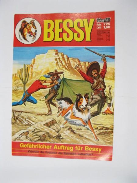 Bessy Comic-Heft Nr.725 Bastei Verlag im Zustand (0-1). 107549