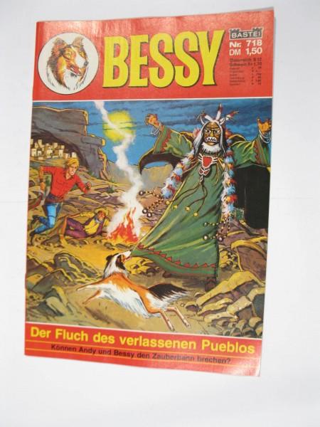 Bessy Comic-Heft Nr.718 Bastei Verlag im Zustand (0-1/1). 107535
