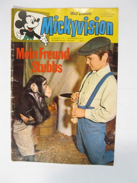 Mickyvision / Micky Vision 1963/12 Ehapa Verlag im Zustand (2). 79487