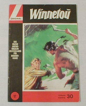 Winnetou 30 (Lehning Verlag 1964) 5052 in Z 1 !!!
