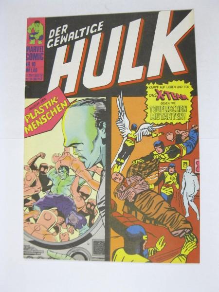 Hulk Nr. 10 Marvel Comic Williams im Z (1). 124283