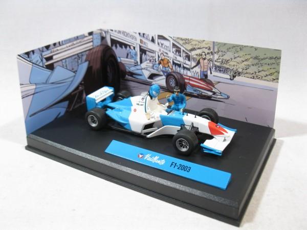 Michel Vaillant Auto F1 - 2003 Metall Diorama 1:43 85294