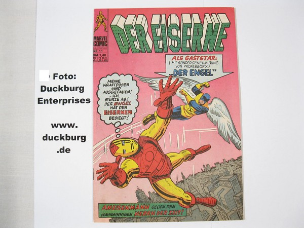 EISERNE Nr. 11 Marvel Comic Williams Z(1) 38772