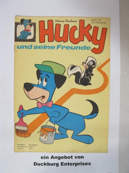 Hucky Nr. 70 / 1.A. Tessloff Verlag im Z (2) 47237