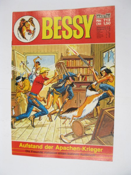 Bessy Comic-Heft Nr.712 Bastei Verlag im Zustand (0-1/1). 107523