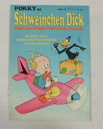 Porky / Schweinchen Dick Nr.44 Comic ab1972 17513