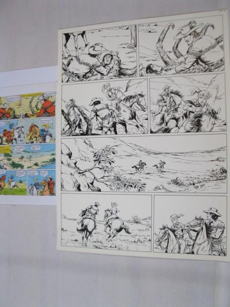 Buffalo Bill Originalseite 4 aus Lasso Band 150 von Hansrudi Wäscher 72845