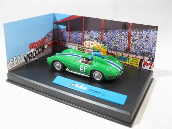 Michel Vaillant Auto Sport E Metall Diorama 1:43 85291