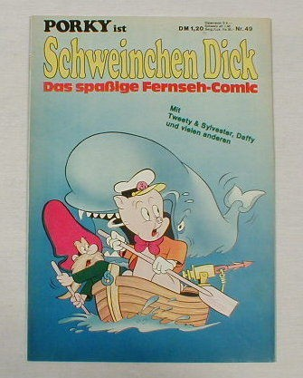 Porky / Schweinchen Dick Nr.49 Comic ab1972 17519