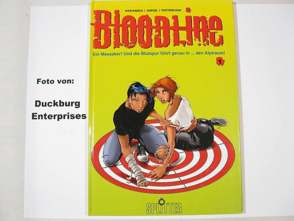 Bloodline Nr. 1 HC Comic Splitter Verlag 26494