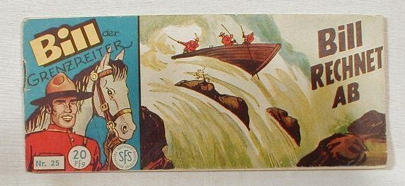BILL der Grenzreiter Nr. 25 Lehning Piccolo 12942