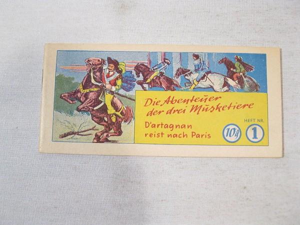 Abenteuer der 3 Musketiere Nr.1 Piccolo Z (0-1) 36882