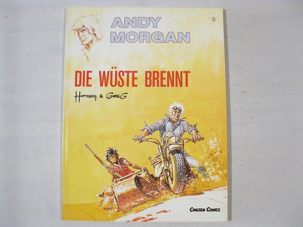 Andy Morgan Nr. 5 Carlsen Comics Erstauflage 25423