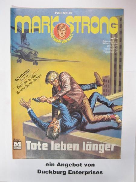 Mark Strong Nr. 6 Moewig Verlag im Zustand (1-2) 47169