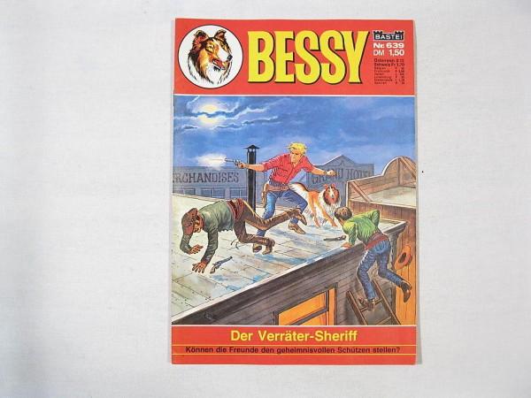 Bessy Comic-Heft Nr.639 (Bastei Verlag) 19781
