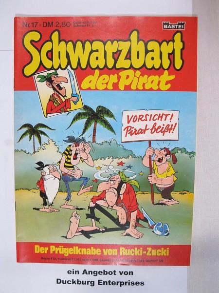 Schwarzbart der Pirat Bastei Verlag Nr. 17 im Zustand (1) 45213