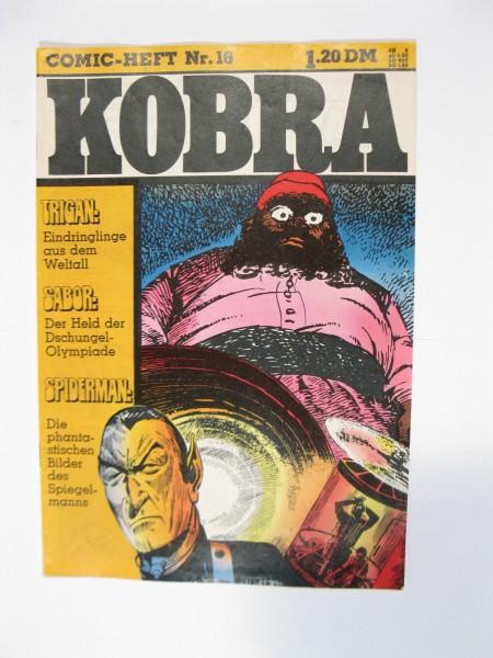 Kobra Comic 1975/16 Gevacur Verlag im Z. (1-2/2). 76417