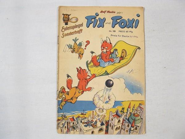 Fix und Foxi / Eulenspiegel Nr. 10 Kauka / Pabel 30241
