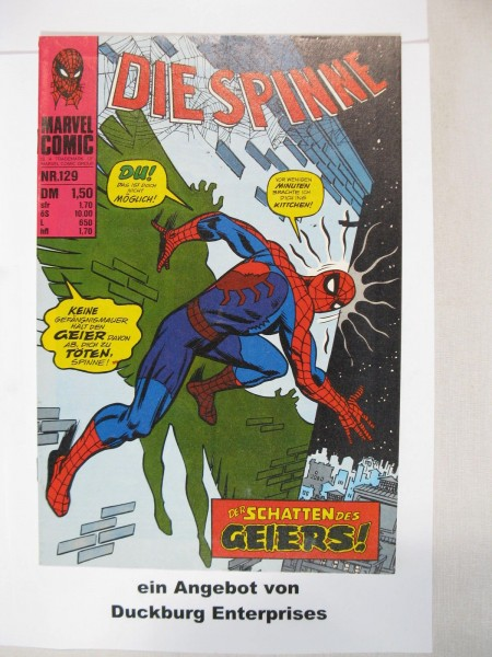 Spinne Nr. 129 Marvel Comics Williams im Zustand (1-2) 44815