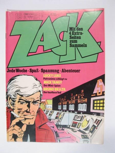 ZACK Comic Nr. 73/19 Koralle Vlg. im Zustand (1-2). 78547