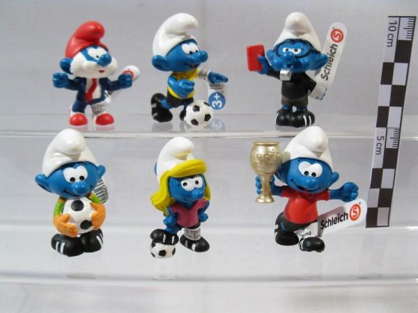 Schleich Die Schlümpfe Fußball Schlumpf mit Ball Action- & Spielfiguren