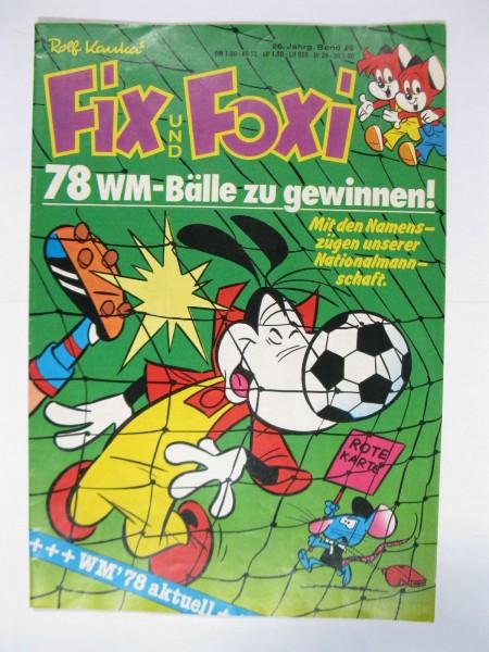 Fix und Foxi 26. Jhrg. 1978/26 Kauka Pabel im Z (1/1-2). 79559