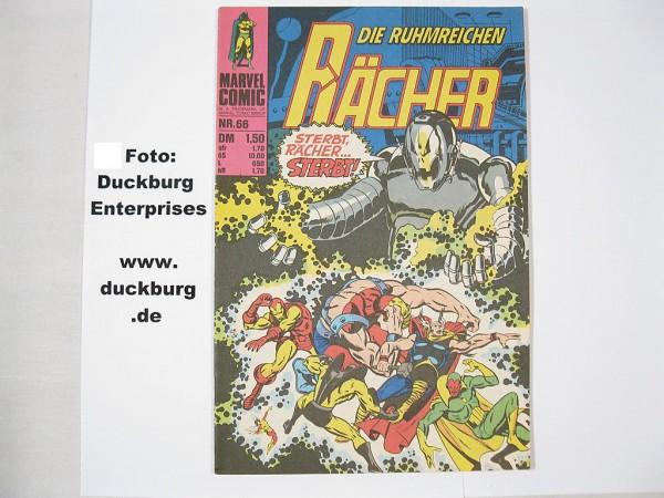 Rächer Nr. 66 Marvel Comic Williams (Z 0-1) 38686