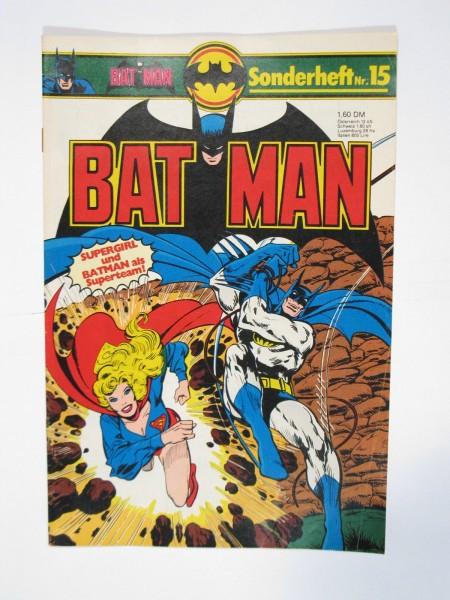 Batman Sonderheft Nr. 15 Ehapa im Zustand (1-2). 66379
