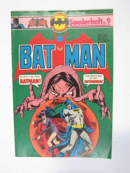 Batman Sonderheft Nr. 9 Ehapa im Zustand (1-2). 63685