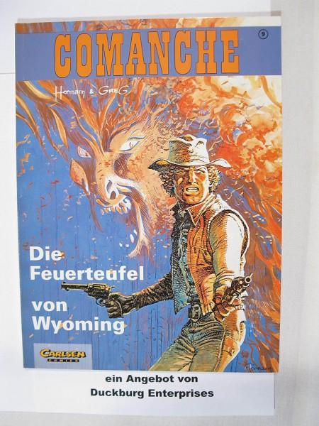 Comanche Nr. 9 Carlsen Comics Erstauflage 44243