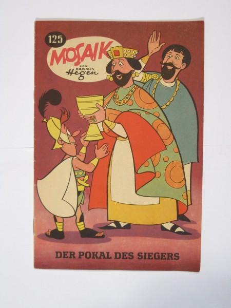 Mosaik DDR Comic Nr. 125 Vlg. Junge Welt im Zustand (1). 64855