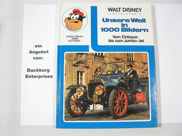 Walt Disney Enzyklopädie Einbaum - Jumbo Ehapa 26662