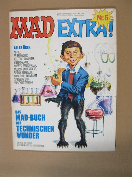MAD Extra Nr. 5 im Zustand (1). 72457