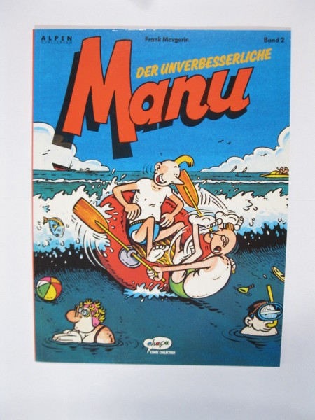 Manu Nr. 2 im Zustand (0-1) Ehapa Comic Collection 99907