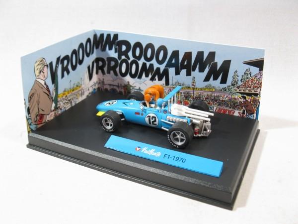 Michel Vaillant Auto F1 - 1970 Metall Diorama 1:43 85295