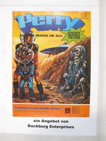 Perry Mann im All Nr. 55 (Moewig Verlag) im Z (1-2) 42722