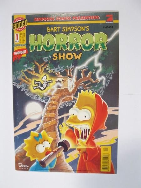 Bart Simpsons Horror Show Nr. 1 Dino Verlag im Zustand (0-1). 96079