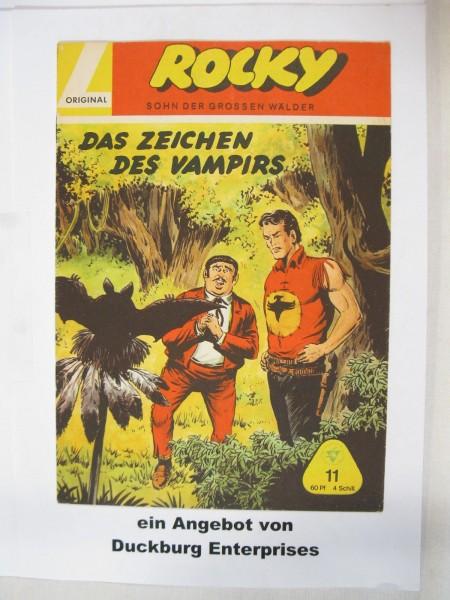 Rocky Nr. 11 Lehning Verlag im Zustand (1-2) 46693
