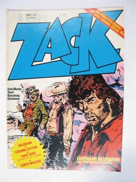 ZACK Comic Nr. 74/ 6 Koralle Vlg. im Zustand (1/1-2). 78589