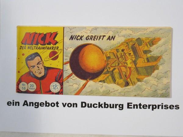 NICK Nr. 58 Lehning Piccolo im Zustand (1-2) 49266
