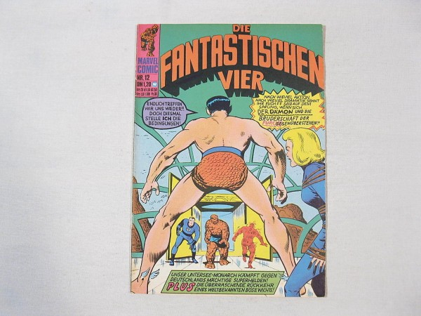 Fantastische Vier Nr. 12 Marvel Williams (1-2) 34664