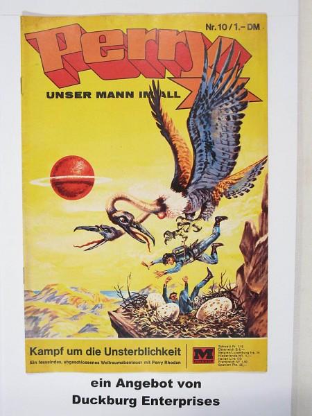 Perry Mann im All Nr. 10 (Moewig Verlag) 41744