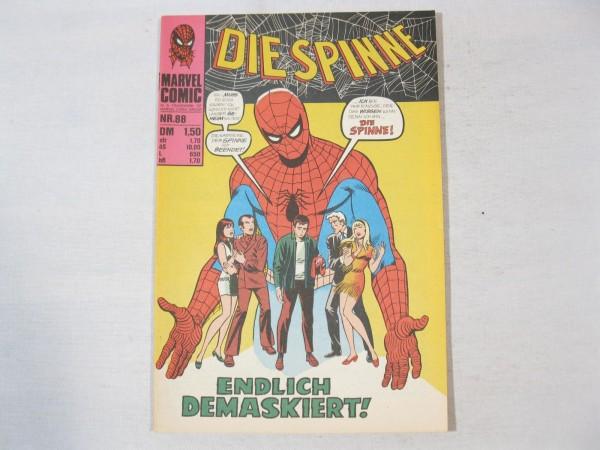 Spinne Nr. 88 Marvel Comic Williams Z (1-2) 37828