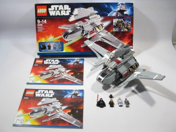 Lego Star Wars 8096 Emperor Palpatines Shuttle mit BA und OVP DB54