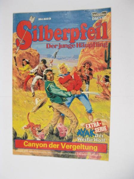 Silberpfeil Nr.603 Bastei Verlag im Zustand (1-2). 107286