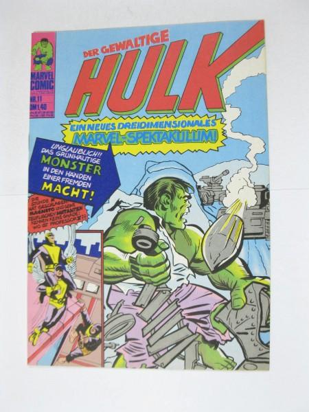 Hulk Nr. 11 Marvel Comic Williams im Z (1). 124285